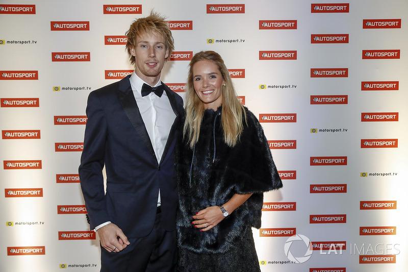 Brendon Hartley, Toro Rosso, y su pareja