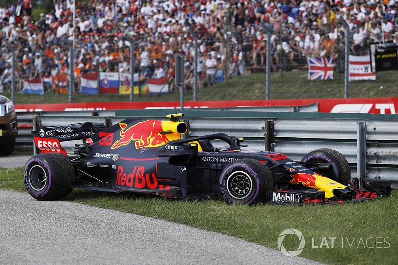 El coche de Max Verstappen, Red Bull Racing