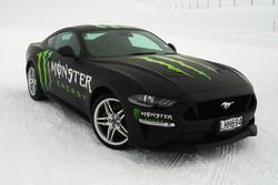 Tickford Racing Ford Mustang on snow