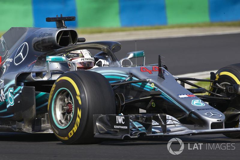 Льюис Хэмилтон, Гран При Венгрии-2018