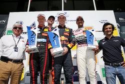 Podio: il vincitore della gara Dan Ticktum, Motopark Dallara F317 - Volkswagen, il secondo classificato Fabio Scherer, Motopark Dallara F317 - Volkswagen, il terzo classificato Jehan Daruvala, Carlin Dallara F317 - Volkswagen