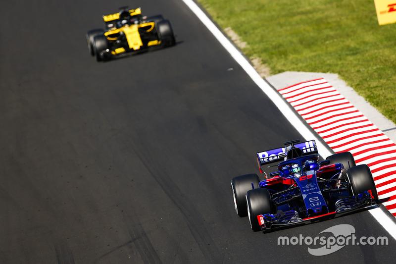 Brendon Hartley - Toro Rosso: 7