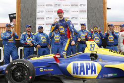 Winnaar Alexander Rossi, Andretti Autosport Honda