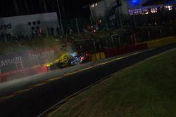 Accidente de #114 Emil Frey Lexus Racing Lexus RC F GT3: Stéphane Ortelli