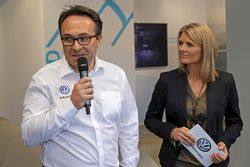 Sven Smeets, Head of Volkswagen Motorsport, Maren Braun