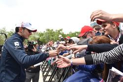 Esteban Ocon, Force India F1 at the autograph session