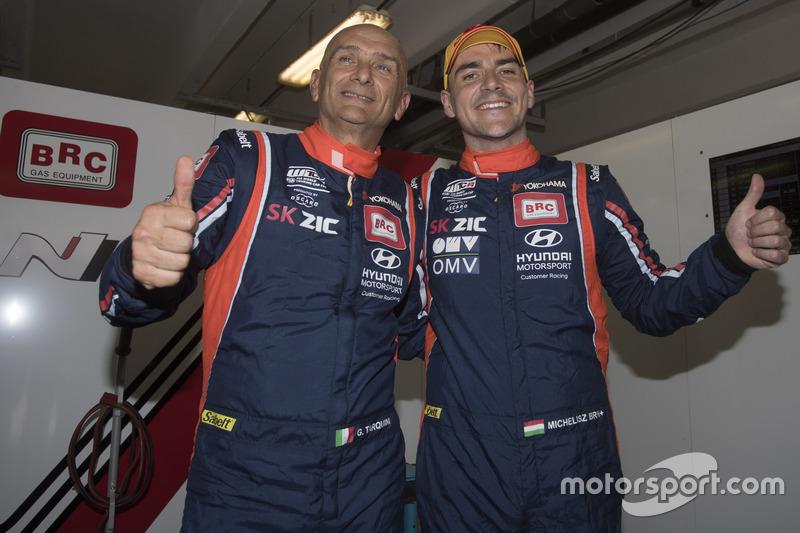 Gabriele Tarquini, BRC Racing Team Hyundai i30 N TCR e Norbert Michelisz, BRC Racing Team Hyundai i30 N TCR
