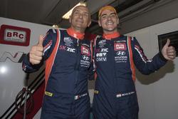 Gabriele Tarquini, BRC Racing Team Hyundai i30 N TCR and Norbert Michelisz, BRC Racing Team Hyundai i30 N TCR