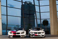 Автомобили BMW M6 GT3 и BMW M4 GT4