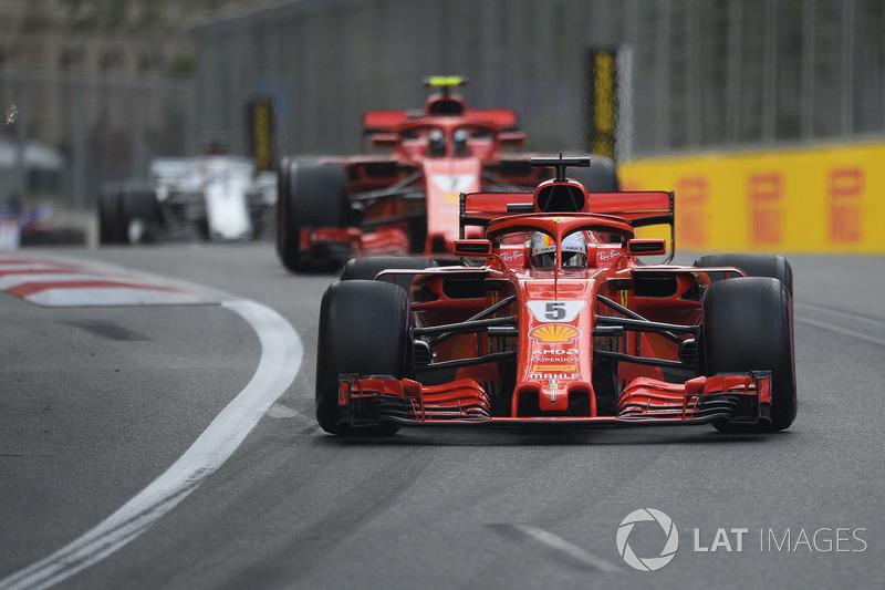 1: Себастьян Феттель, Ferrari SF71H – 1:41.498