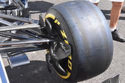 Sauber C37 detalle del freno delantero