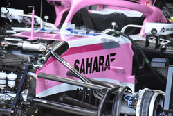 Force India VJM11 voorwielophanging