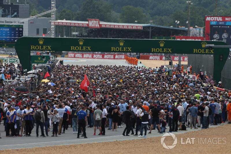 Parrilla Le Mans 2018