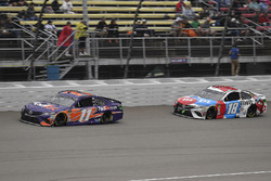 Denny Hamlin, Joe Gibbs Racing, Toyota Camry FedEx Freight and Kyle Busch, Joe Gibbs Racing, Toyota