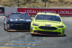 Paul Menard, Wood Brothers Racing, Ford Fusion Menards / Richmond, Chris Buescher, JTG Daugherty Racing, Chevrolet Camaro Maxwell House Max