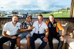 Jens Hainbach, Jorge Martín, Pit Beirer and Aki Ajo, Red Bull KTM Ajo team