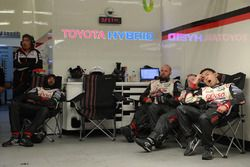 Miembros del Toyota Gazoo Racing