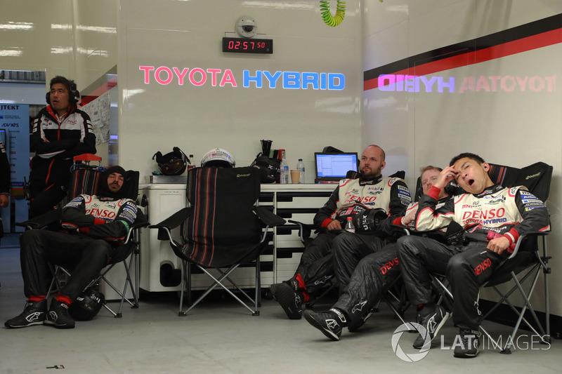 Toyota Gazoo Racing team members