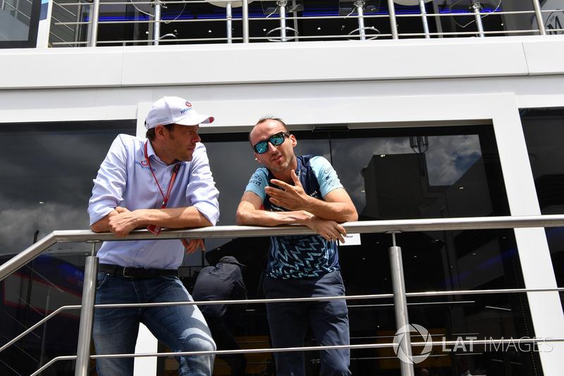 Robert Kubica, Williams, Alex Wurz, trener kierowców, Williams