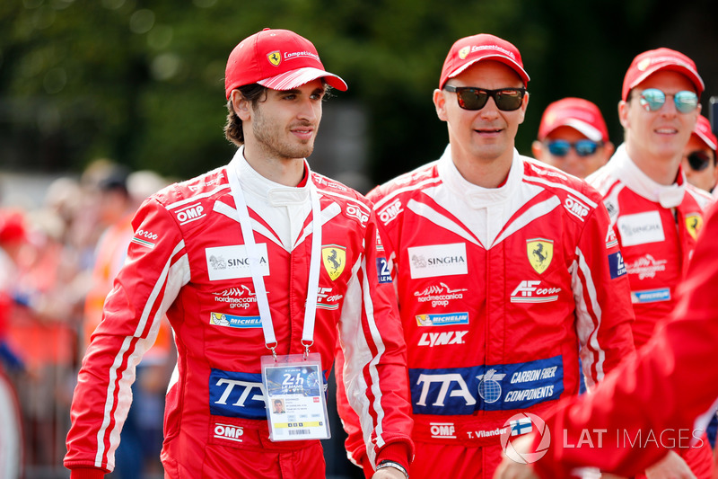 Antonio Giovinazzi, AF Corse Ferrari