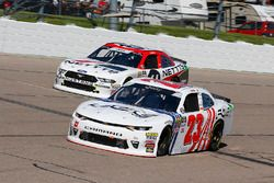 Justin Haley, GMS Racing, Chevrolet Camaro FOE and Kaz Grala, Fury Race Cars LLC, Ford Mustang NETTTS