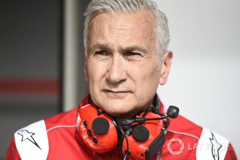 Davide Tardozzi, gerente del equipo Ducati