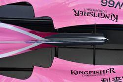 Force India VJM11 gövde detay