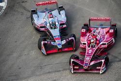 Jérôme d'Ambrosio, Dragon Racing & Maro Engel, Venturi Formula E Team. make contact