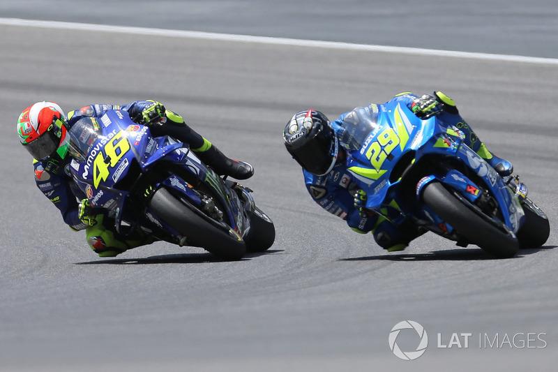 GP d'Italie - Valentino Rossi et Andrea Iannone