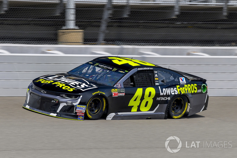 20. Jimmie Johnson, Hendrick Motorsports, Chevrolet Camaro Lowe's for Pros