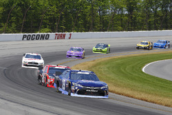 Brandon Jones, Joe Gibbs Racing, Toyota Camry Toyota XYO Networks and Christopher Bell, Joe Gibbs Racing, Toyota Camry Ruud-Meier Supply
