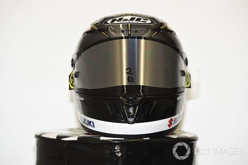Il casco speciale di Andrea Iannone, Team Suzuki MotoGP