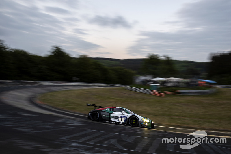15. #1 Audi Sport Team Land Audi R8 LMS GT3: Christopher Mies, Kelvin van der Linde, Sheldon van der Linde, Rene Rast