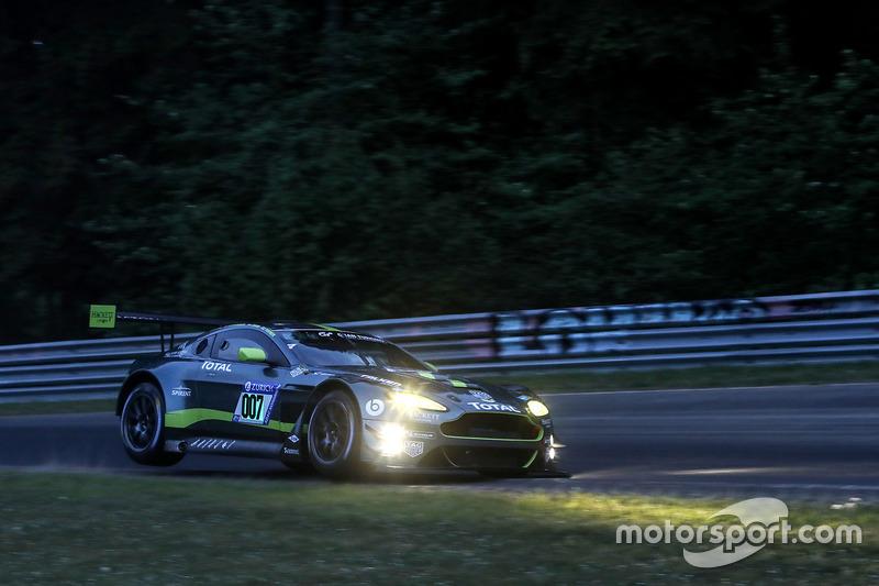 5. #007 Aston Martin Racing Aston Martin Vantage GT3: Maxime Martin, Marco Sorenson, Nicki Thiim, Darren Turner