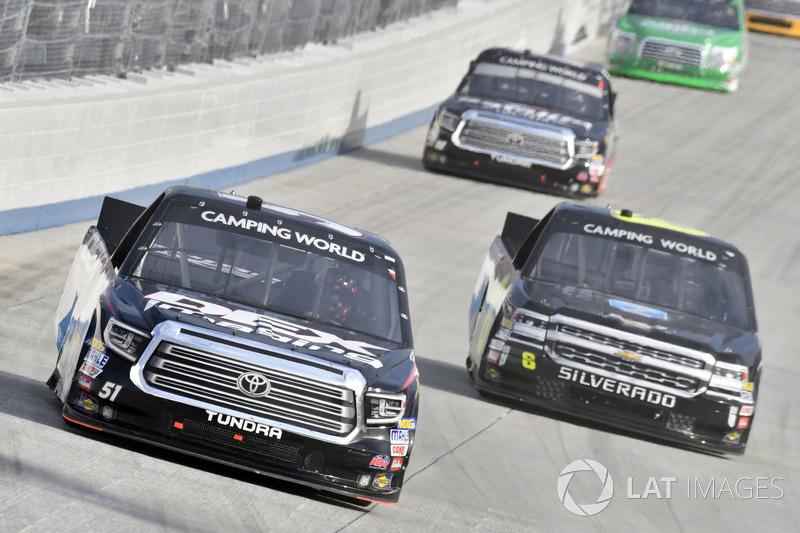 Harrison Burton, Kyle Busch Motorsports, Toyota Tundra DEX Imaging, Norm Benning, Norm Benning Racing, Chevrolet Silverado Zomongo