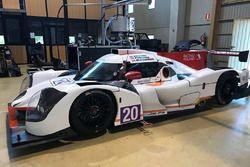 Alex Fontana, Henning Enqvist,Tomasz Blocharski, Ligier JS P3-Nissan, Racing for Poland