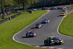 #17 Team WRT Audi R8 LMS: Stuart Leonard, Frederic Vervisch leads