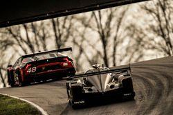#5 Action Express Racing Cadillac DPi, P: Joao Barbosa, Filipe Albuquerque, #48 Paul Miller Racing Lamborghini Huracan GT3, GTD: Madison Snow, Bryan Sellers
