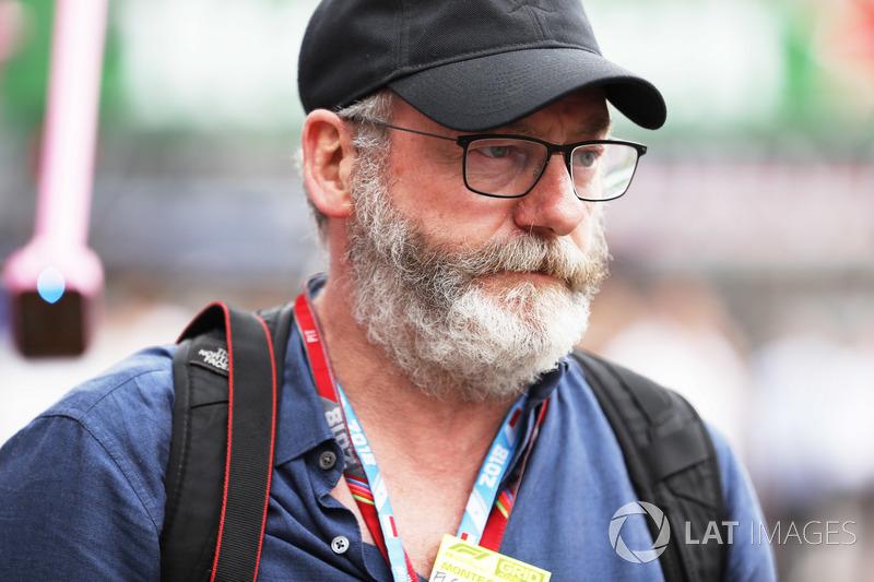 Гран При Монако: актер Лиам Каннингэм
