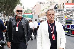 Флавио Бриаторе и Жан Алези