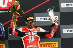 Podium SSP: third place Raffaele De Rosa, MV Agusta Reparto Corse by Vamag