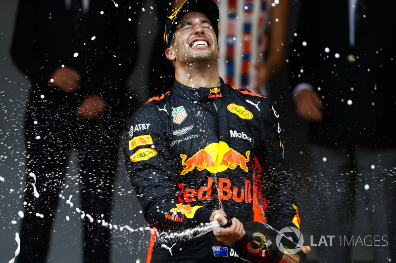 Gran Premio de Mónaco: Daniel Ricardo, Red Bull Racing