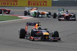 Sebastian Vettel, Red Bull Racing RB9 al comando