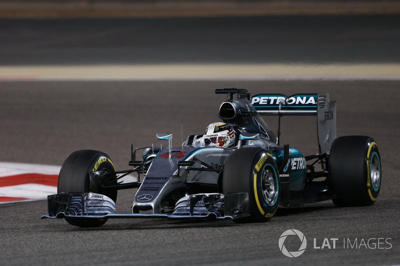 2015: Lewis Hamilton, Mercedes AMG F1 W06