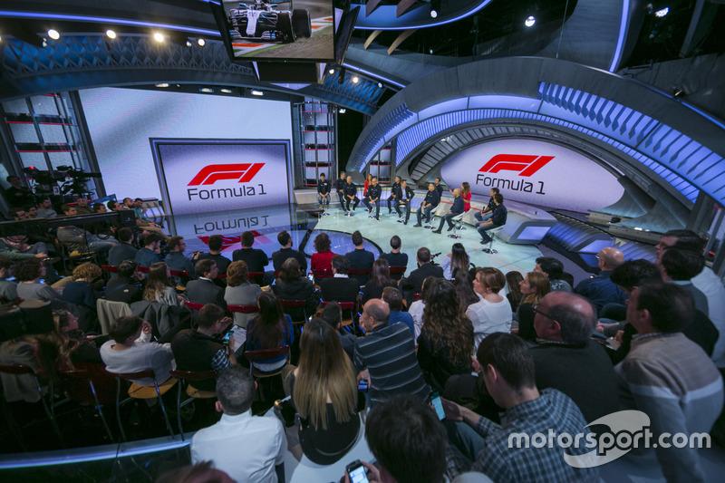 Presentación de la temporada 2018 de MotoGP y F1 de Movistar +