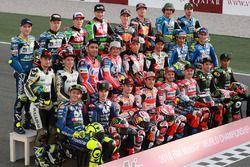 Foto di gruppo della MotoGP