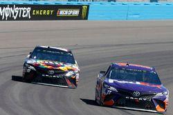 Denny Hamlin, Joe Gibbs Racing, Toyota Camry FedEx Freight Kyle Busch, Joe Gibbs Racing, Toyota Camr