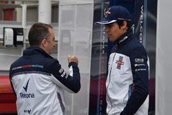 Lance Stroll, Williams and Paddy Lowe, Williams