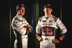 Гонщики EKS Audi Sport Андреас Баккеруд и Маттиас Экстрём