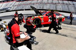 Kyle Busch, Joe Gibbs Racing, Toyota Camry Skittles crew chief Adam Stevens